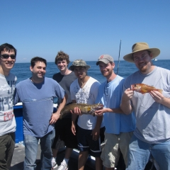 Deep Sea Fishing, August 2010